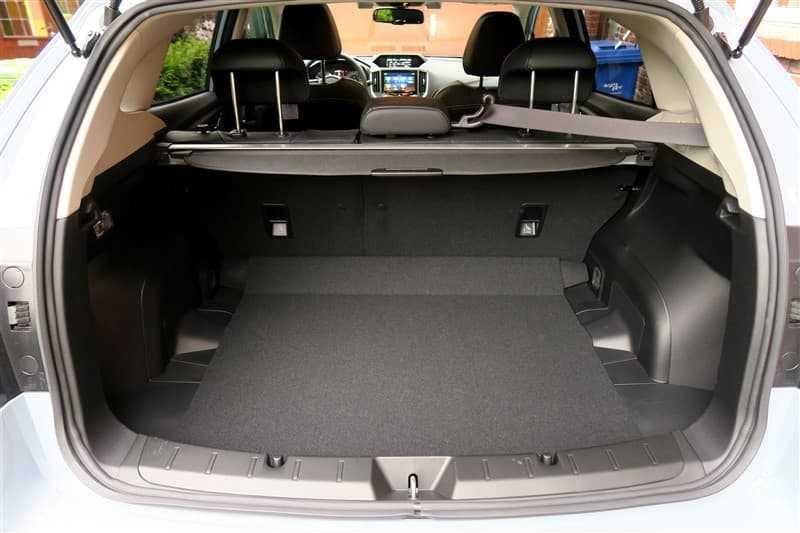 test Subaru XV bagageruimte