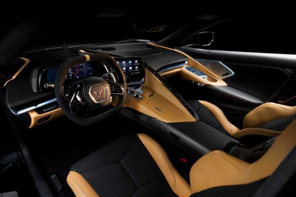 Corvette interieur