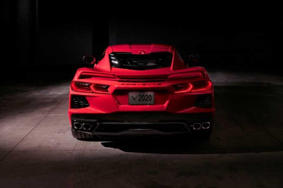 Corvette achterkan