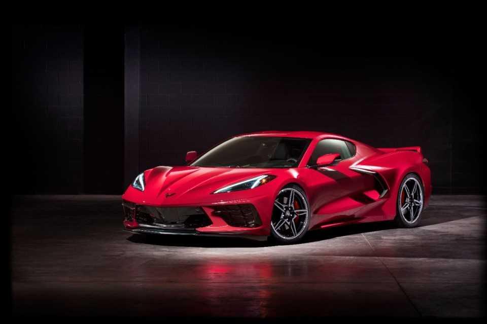 Corvette motorkap