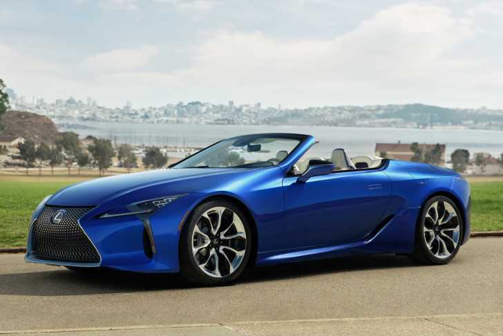 Lexus LC 500 convertible Geneve 2020