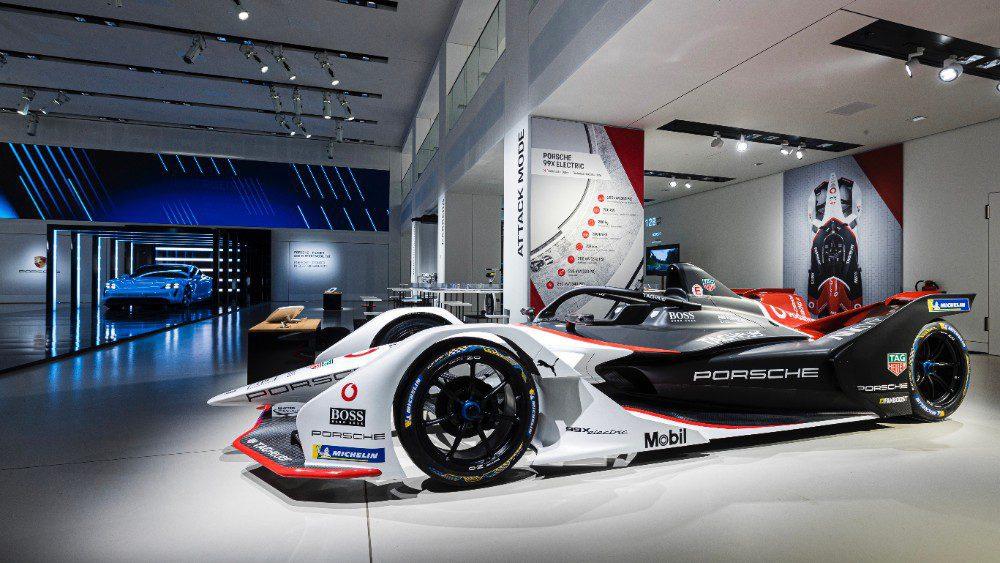 Een Porsche Formula E