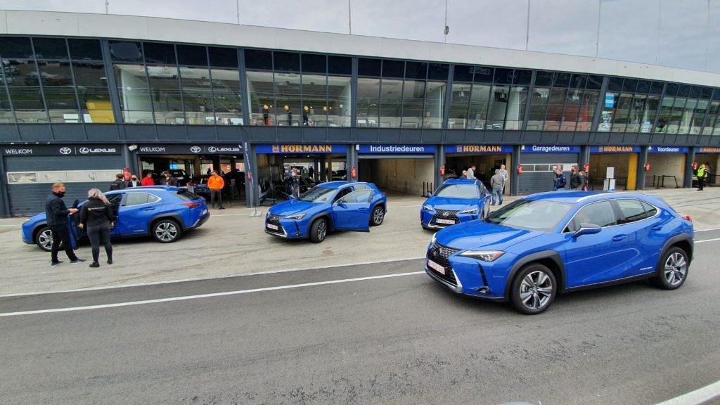 Lexus UX 300E op EV Experience