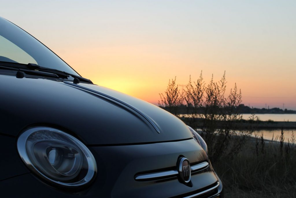 Fiat motorkap